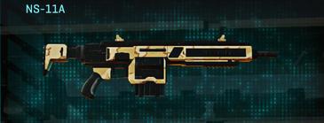 Sandy scrub assault rifle ns-11a