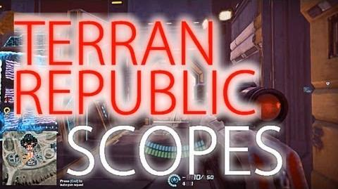 Terran Republic Scopes (all) - Planetside 2 Guide Commentary (beta)