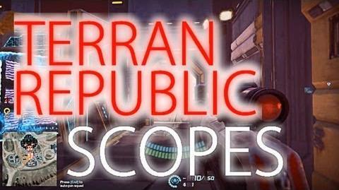 Terran Republic Scopes (all) - Planetside 2 Guide Commentary (beta)