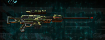 Temperate forest sniper rifle 99sv