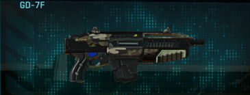 Woodland carbine gd-7f