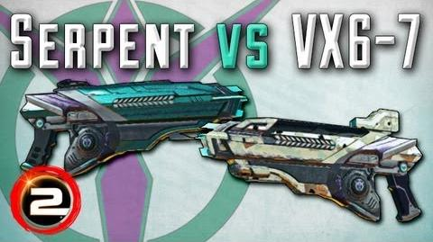 Serpent versus VX6-7 Review Comparison (PlanetSide 2)