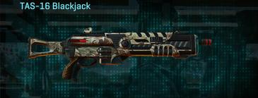 Arid forest shotgun tas-16 blackjack