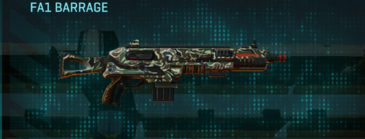 Scrub forest shotgun fa1 barrage