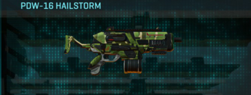 Jungle forest smg pdw-16 hailstorm
