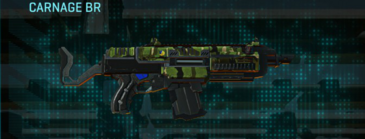 Jungle forest assault rifle carnage br