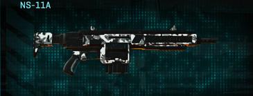 Snow aspen forest assault rifle ns-11a