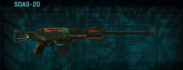 Clover scout rifle soas-20