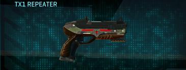 Woodland pistol tx1 repeater