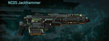 African forest heavy gun nc05 jackhammer