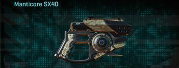 Arid forest pistol manticore sx40