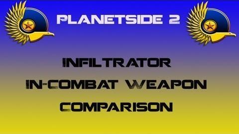 NC Infiltrator In-Combat Comparison - Planetside 2
