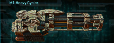 Arid forest max m1 heavy cycler
