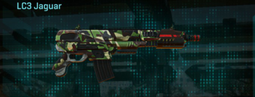 African forest carbine lc3 jaguar