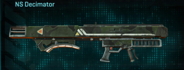 Amerish scrub rocket launcher ns decimator