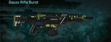 African forest assault rifle gauss rifle burst