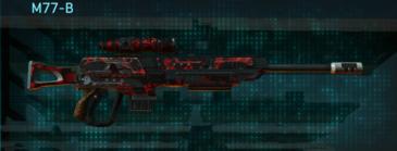 Tr loyal soldier sniper rifle m77-b