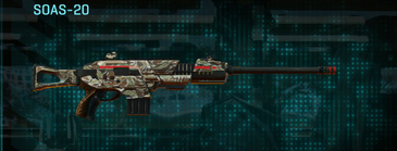 Arid forest scout rifle soas-20