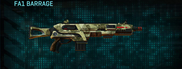 Palm shotgun fa1 barrage