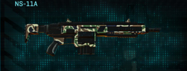 Scrub forest assault rifle ns-11a
