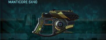 Temperate forest pistol manticore sx40