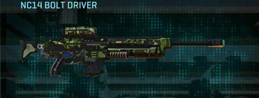 Jungle forest sniper rifle nc14 bolt driver