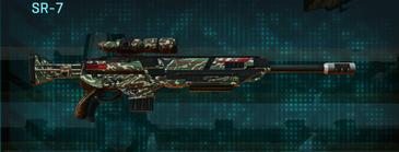 Scrub forest sniper rifle sr-7
