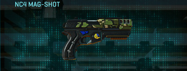 Jungle forest pistol nc4 mag-shot