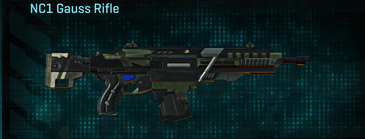 Amerish scrub assault rifle nc1 gauss rifle