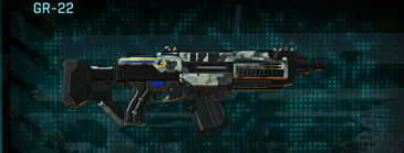 Northern forest assault rifle gr-22