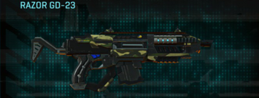Temperate forest carbine razor gd-23