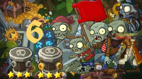 PvZ Online - Adventure Mode - Treasure Island 6