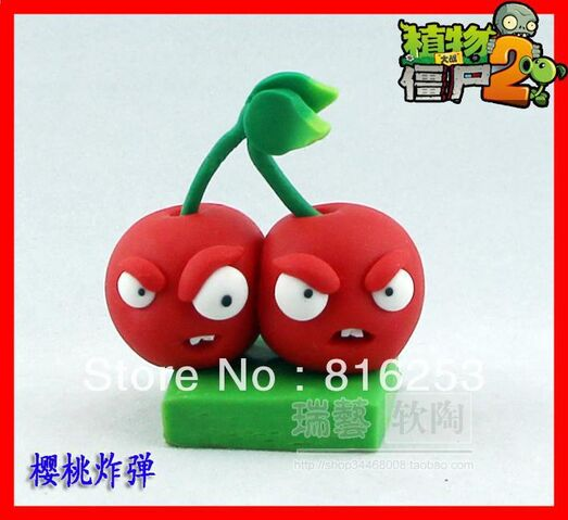 File:Free-Shipping-New-Arrvial-Plants-vs-zombies-2-It-is-about-time-Cherry-Bomb-action-figure.jpg