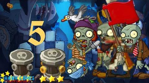 PvZ Online - Adventure Mode - Treasure Cave 5