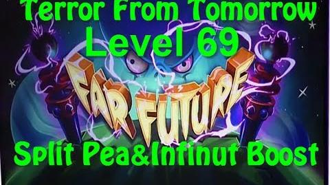 Terror From Tomorrow Level 69 Split Pea Boost Plants vs Zombies 2 Endless Gameplay Walkthrough