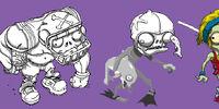 Plants vs. Zombies Adventures/Concepts