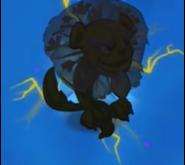 Dandy Lion King's silhouette