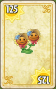Twin Sunflower Card Costume Spring