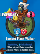 Receiving Zombot Plank Walker new