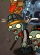 PVZOL QSHM Buckethead Zombie