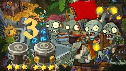 PvZ Online - Adventure Mode - Treasure Island 3