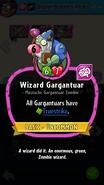 Wizard Gargantuar Description