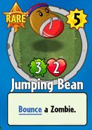 Receiving Jumping Bean