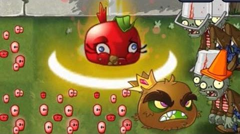Plants vs Zombies 2 - Bombegranate in Action