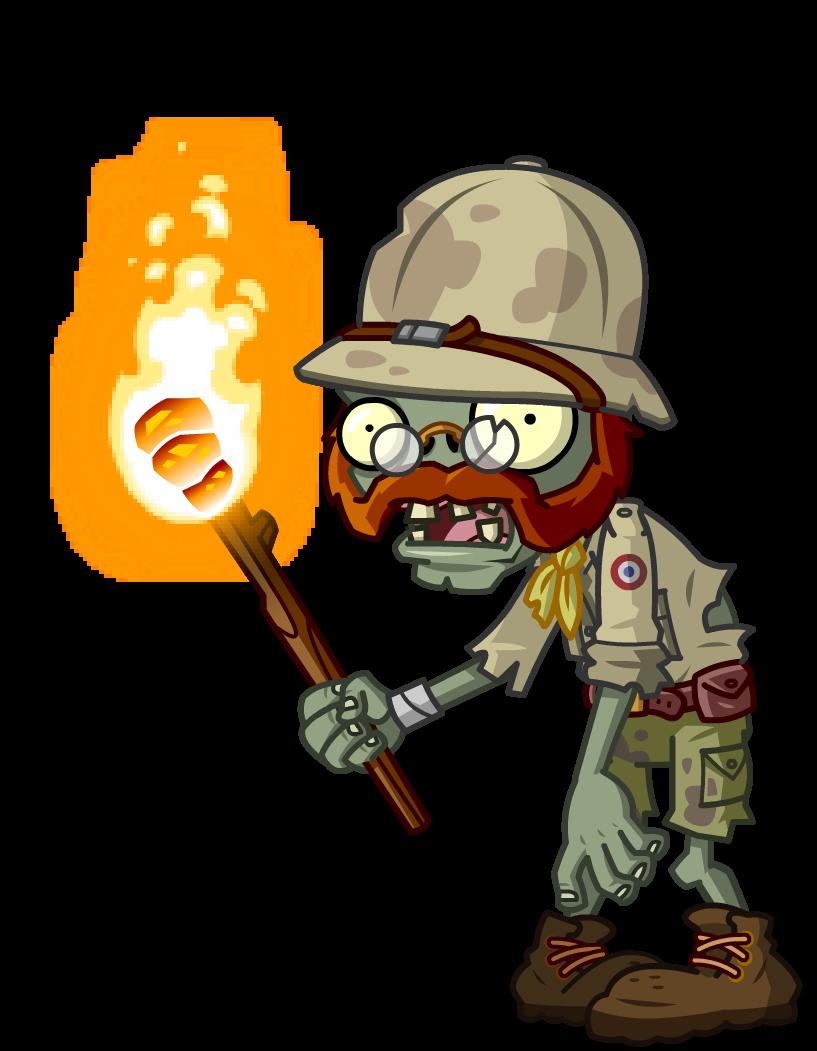Image - Explorer Zombie.png | Plants vs. Zombies Wiki | Fandom powered ... Plants Vs Zombies Zombie Head Png