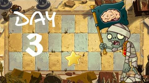 PvZ All Stars - Ancient Egypt Day 3