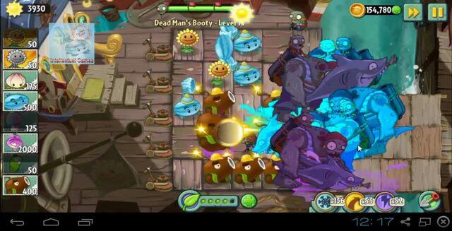 File:Dead Man's Booty Level 071 battle of Hypno-Shroom Plants vs Zombies 2-19-50-34-.JPG