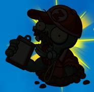 Zombie Coach silhouette