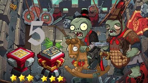 PvZ Online - Adventure Mode - Battle of the Great Wall 5