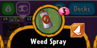 Weed Spray